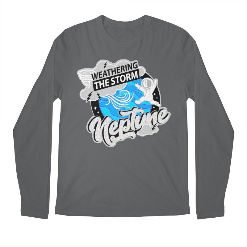 Neptune - Weathering the Storm Men's Longsleeve T-Shirt by Moon Joggers's Artist Shop