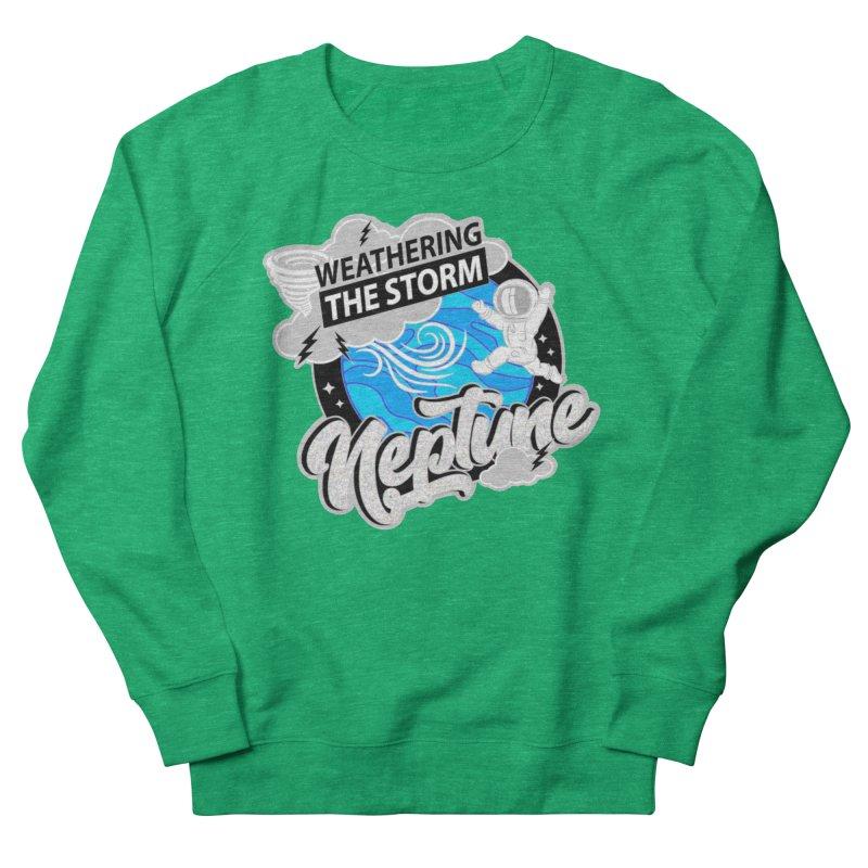 Neptune - Weathering the Storm Women's Sweatshirt by Moon Joggers's Artist Shop