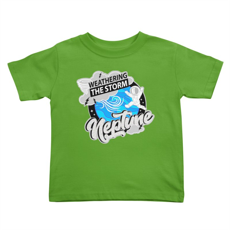Neptune - Weathering the Storm Kids Toddler T-Shirt by Moon Joggers's Artist Shop
