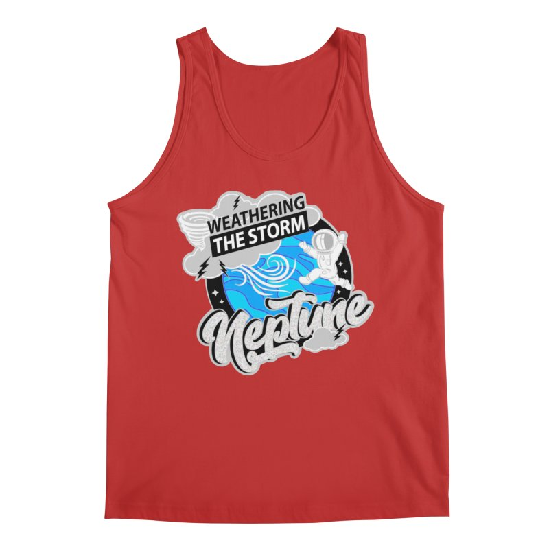 Neptune - Weathering the Storm Men's Tank by Moon Joggers's Artist Shop