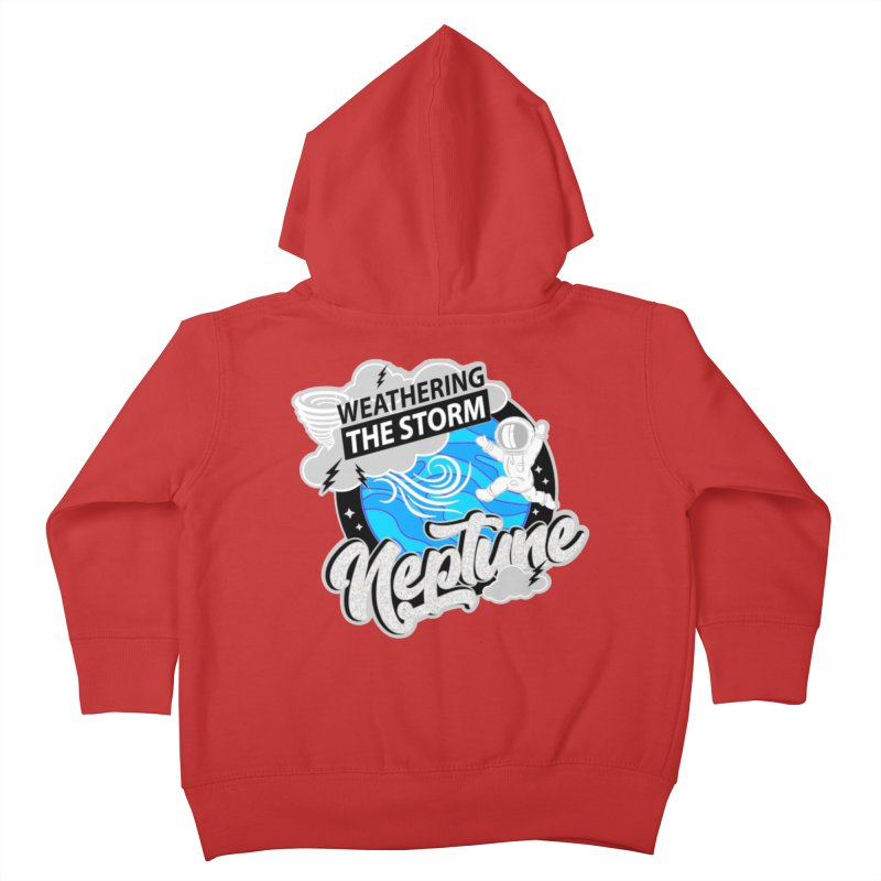 Neptune - Weathering the Storm Kids Toddler Zip-Up Hoody by Moon Joggers's Artist Shop