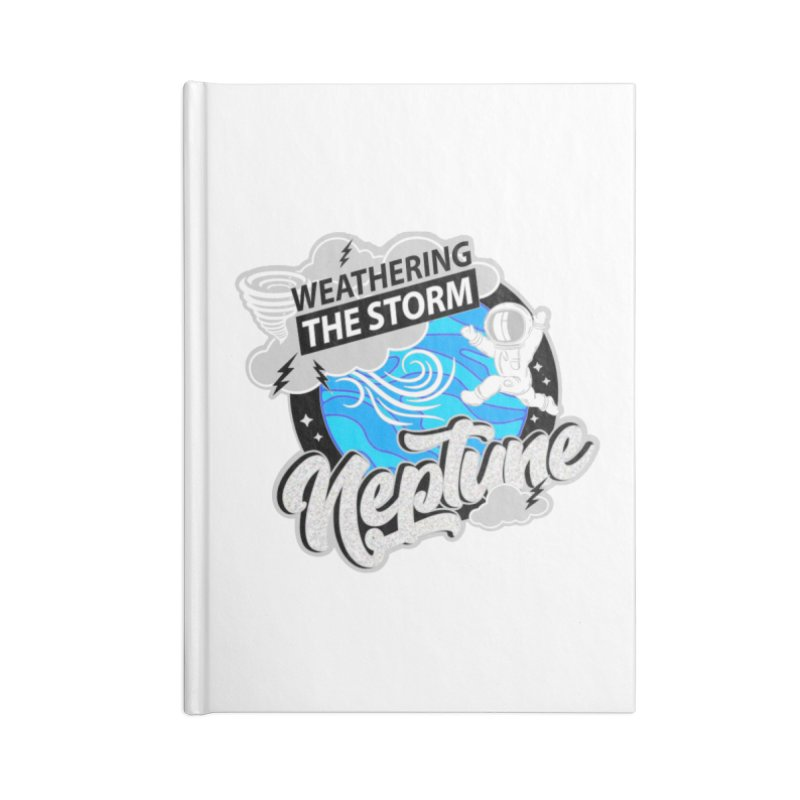 Neptune - Weathering the Storm Accessories Notebook by Moon Joggers's Artist Shop