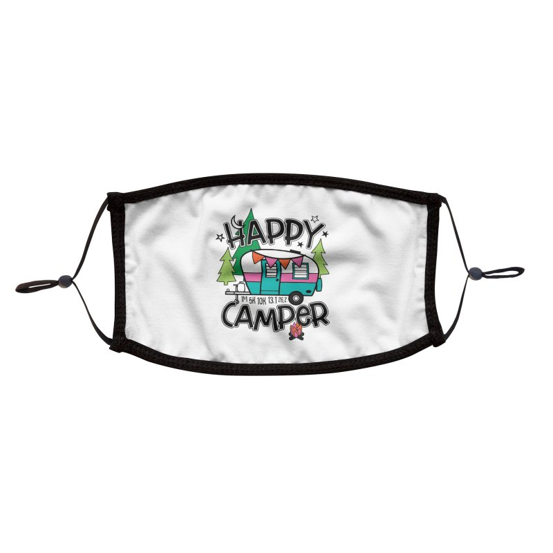 Happy Camper Accessories Face Mask by Moon Joggers's Artist Shop
