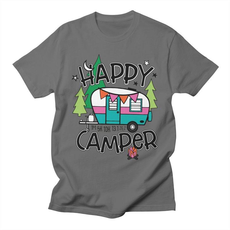 Happy Camper Men's T-Shirt by Moon Joggers's Artist Shop