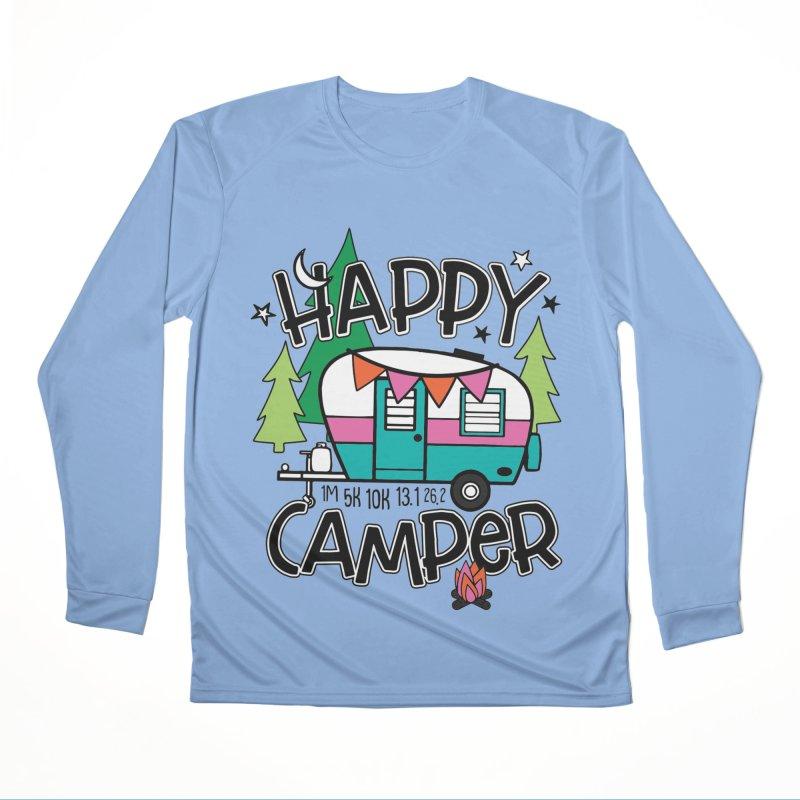 Happy Camper Women's Longsleeve T-Shirt by Moon Joggers's Artist Shop