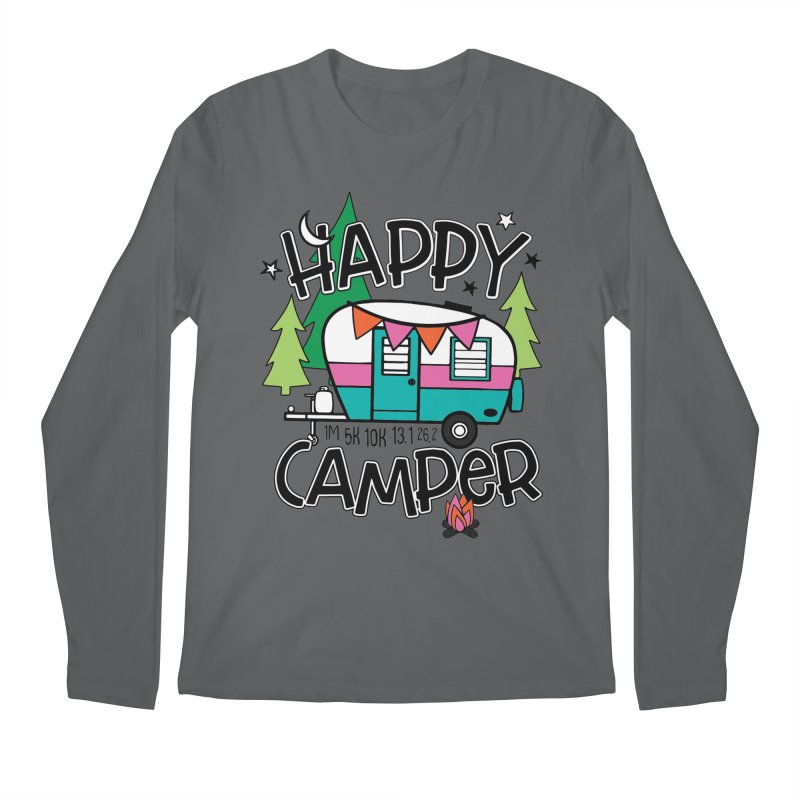 Happy Camper Men's Longsleeve T-Shirt by Moon Joggers's Artist Shop