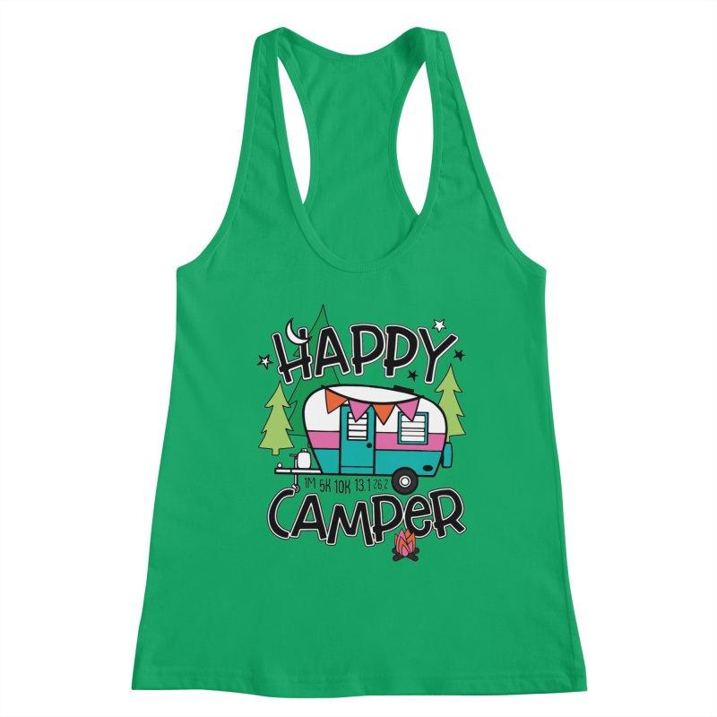Happy Camper Women's Tank by Moon Joggers's Artist Shop