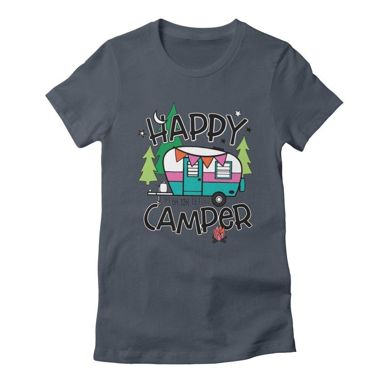 Happy Camper Women's T-Shirt by Moon Joggers's Artist Shop