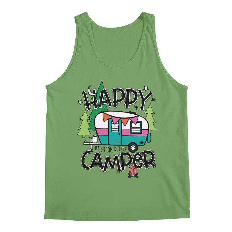Happy Camper Men's Tank by Moon Joggers's Artist Shop