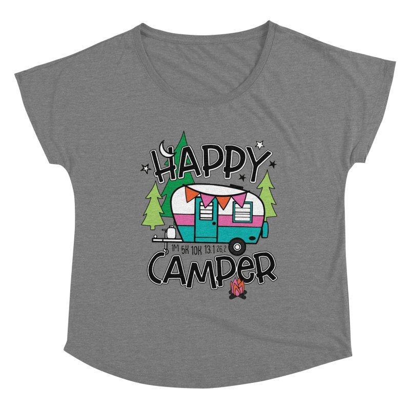 Happy Camper Women's Scoop Neck by Moon Joggers's Artist Shop