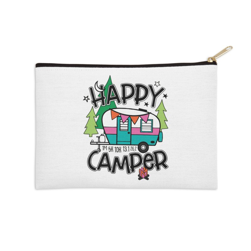 Happy Camper Accessories Zip Pouch by Moon Joggers's Artist Shop