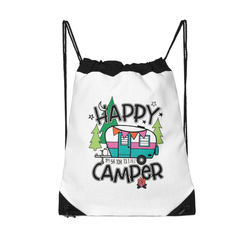 Happy Camper Accessories Bag by Moon Joggers's Artist Shop