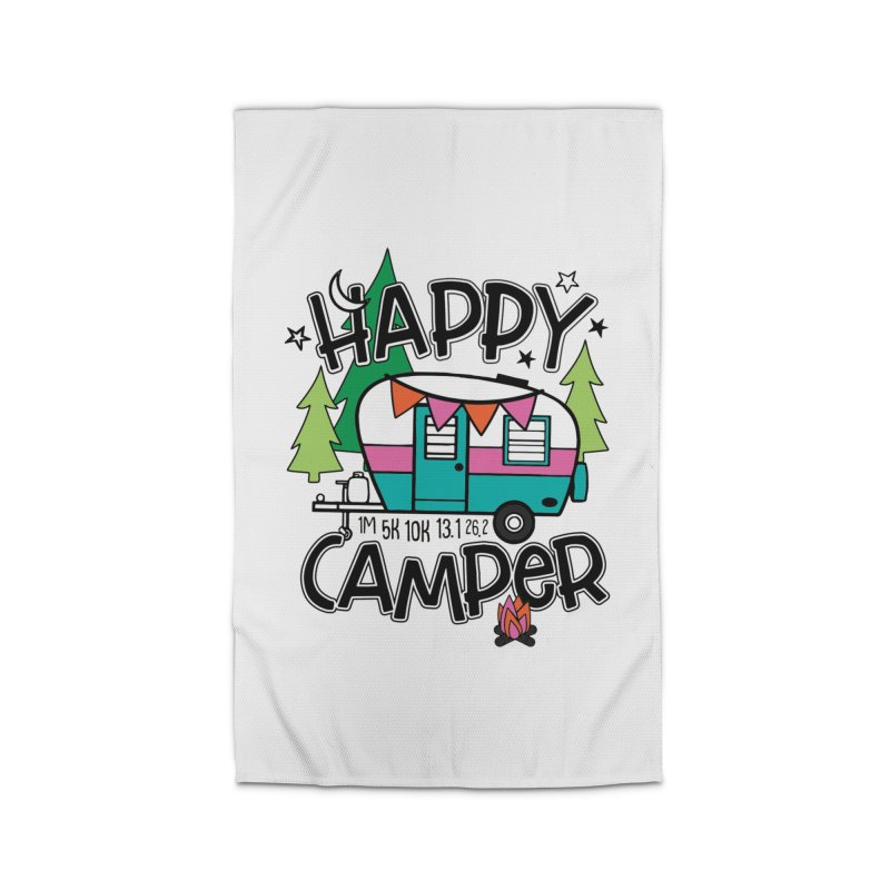 Happy Camper Home Rug by Moon Joggers's Artist Shop