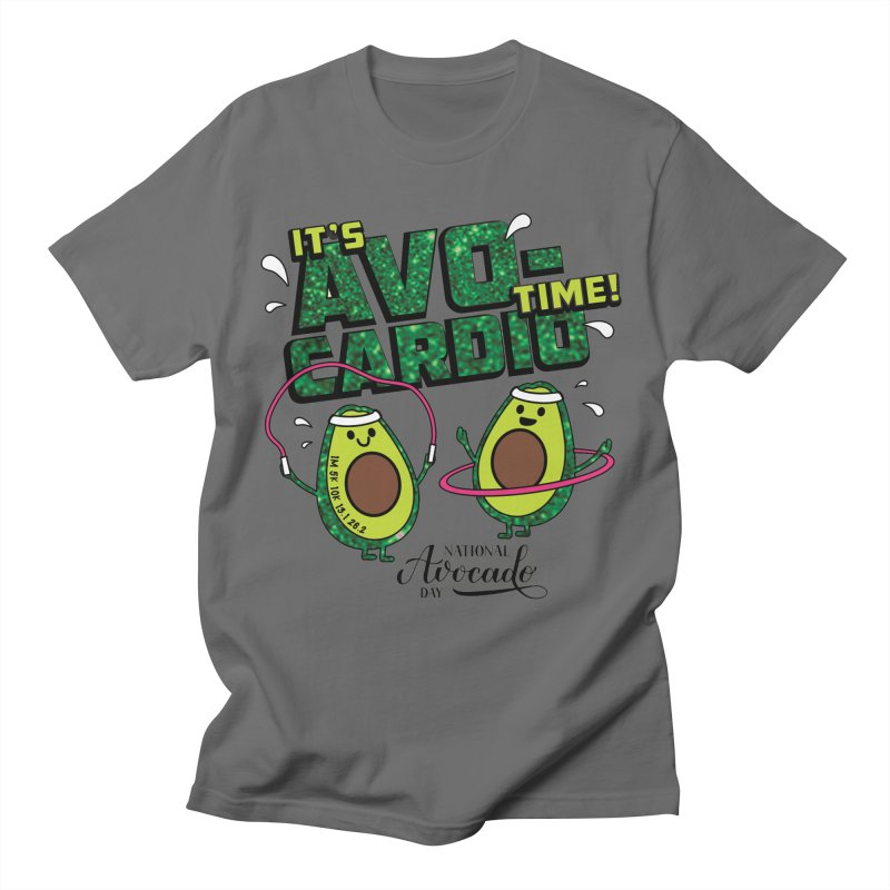 Avocado Day - It's Avo-Cardio Time! Men's T-Shirt by Moon Joggers's Artist Shop