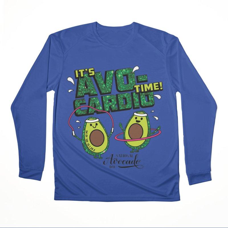 Avocado Day - It's Avo-Cardio Time! Men's Longsleeve T-Shirt by Moon Joggers's Artist Shop