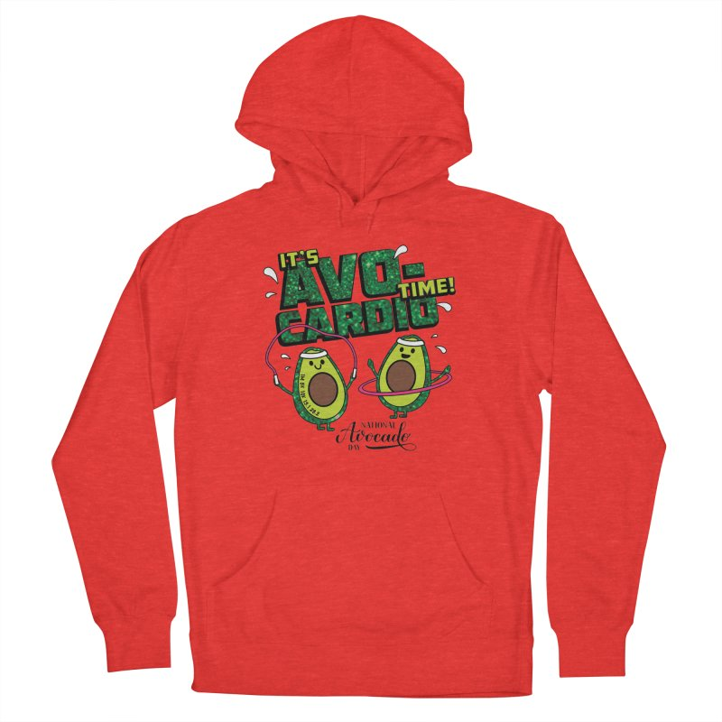 Avocado Day - It's Avo-Cardio Time! Men's Pullover Hoody by Moon Joggers's Artist Shop
