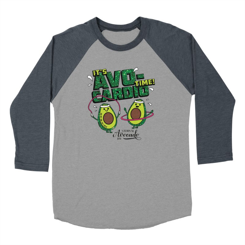 Avocado Day - It's Avo-Cardio Time! Women's Longsleeve T-Shirt by Moon Joggers's Artist Shop