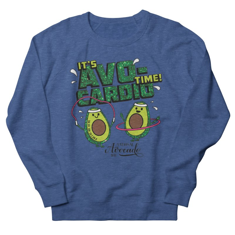 Avocado Day - It's Avo-Cardio Time! Men's Sweatshirt by Moon Joggers's Artist Shop