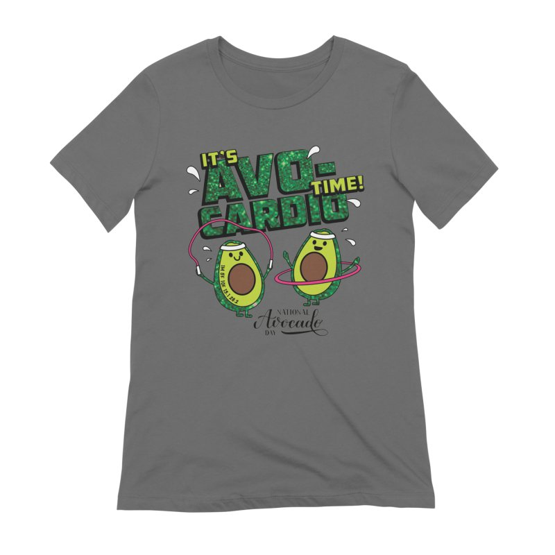 Avocado Day - It's Avo-Cardio Time! Women's T-Shirt by Moon Joggers's Artist Shop