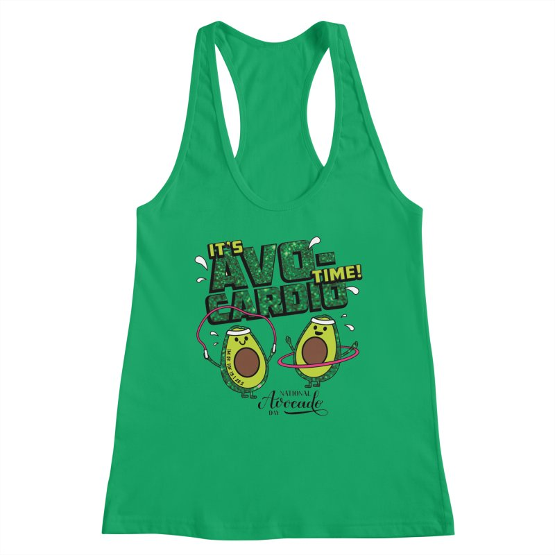 Avocado Day - It's Avo-Cardio Time! Women's Tank by Moon Joggers's Artist Shop