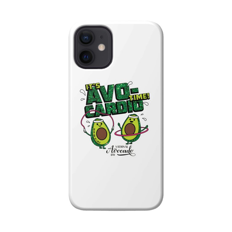 Avocado Day - It's Avo-Cardio Time! Accessories Phone Case by Moon Joggers's Artist Shop