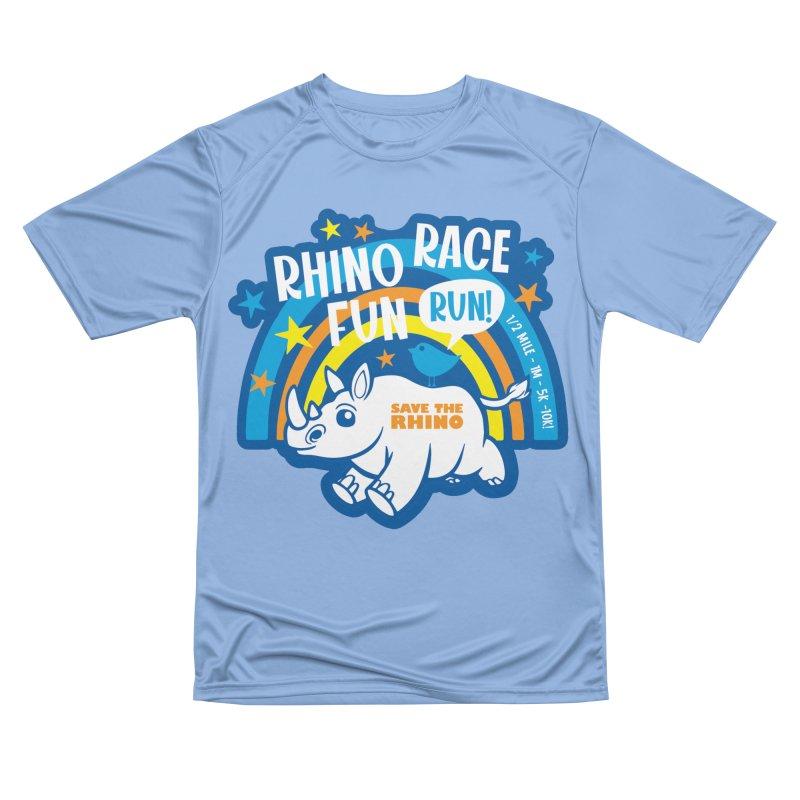 RHINO RACE FUN RUN Women's T-Shirt by Moon Joggers's Artist Shop