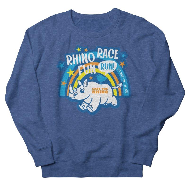 RHINO RACE FUN RUN Men's Sweatshirt by Moon Joggers's Artist Shop