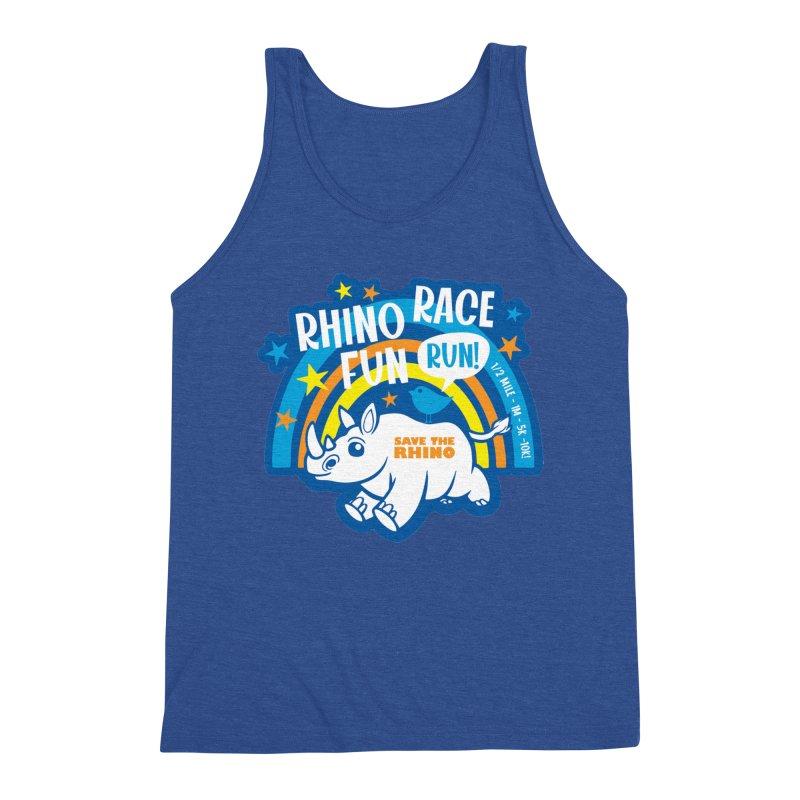 RHINO RACE FUN RUN Men's Tank by Moon Joggers's Artist Shop
