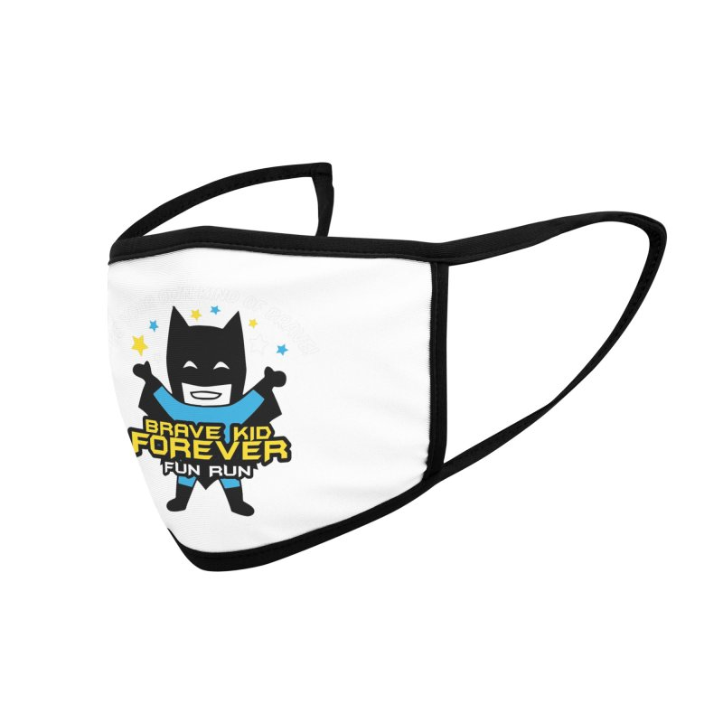 Brave Kid Forever! Accessories Face Mask by Moon Joggers's Artist Shop