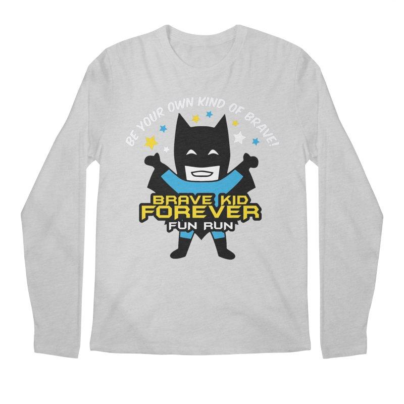 Brave Kid Forever! Men's Longsleeve T-Shirt by Moon Joggers's Artist Shop