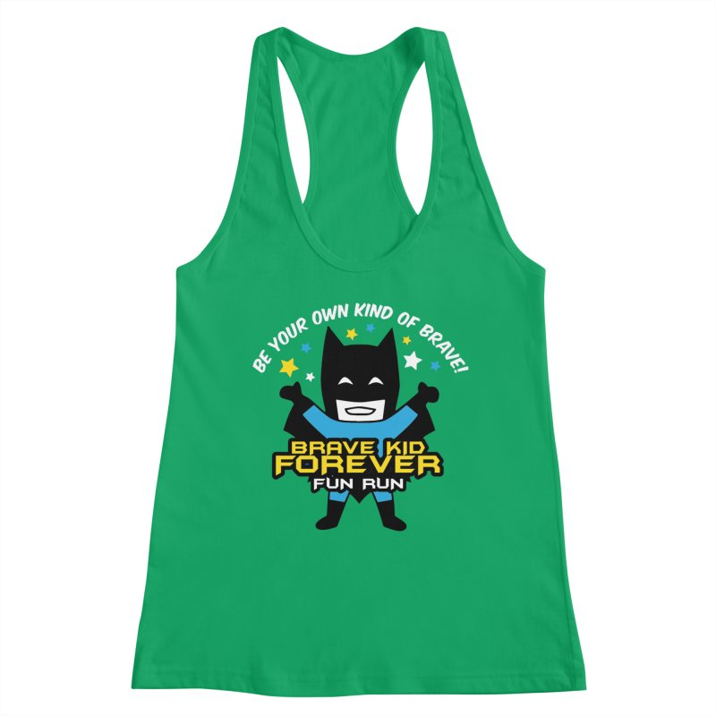 Brave Kid Forever! Women's Tank by Moon Joggers's Artist Shop