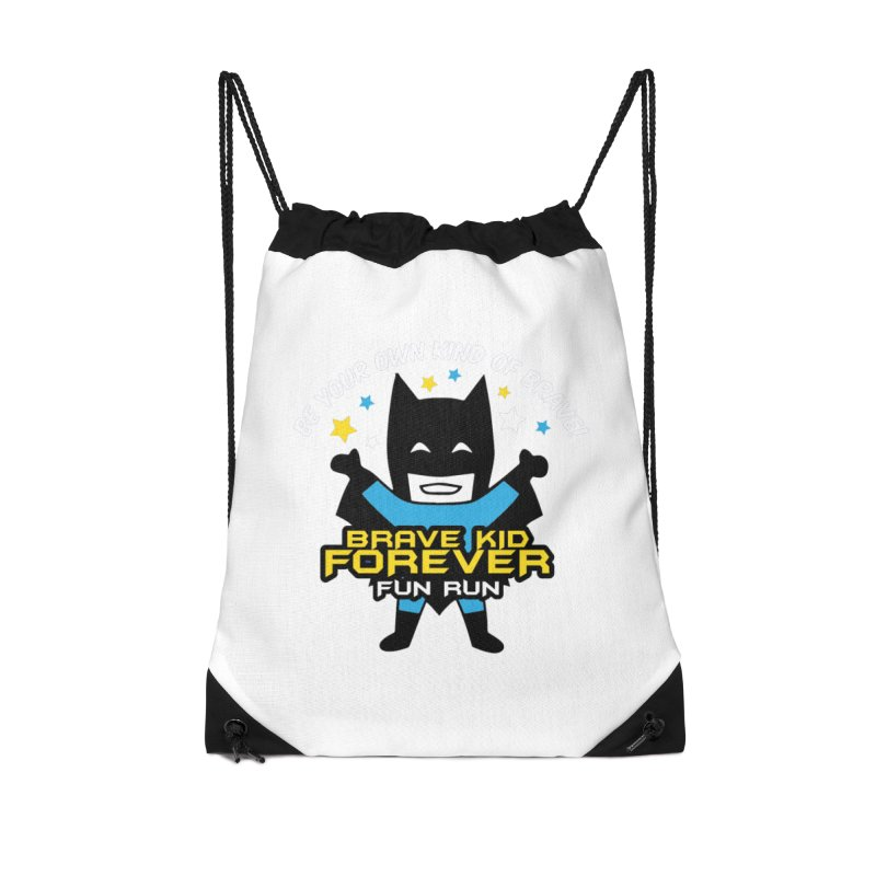 Brave Kid Forever! Accessories Bag by Moon Joggers's Artist Shop