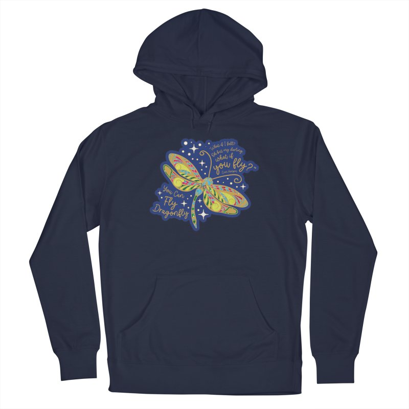 You Can Fly Dragonfly Men's Pullover Hoody by Moon Joggers's Artist Shop
