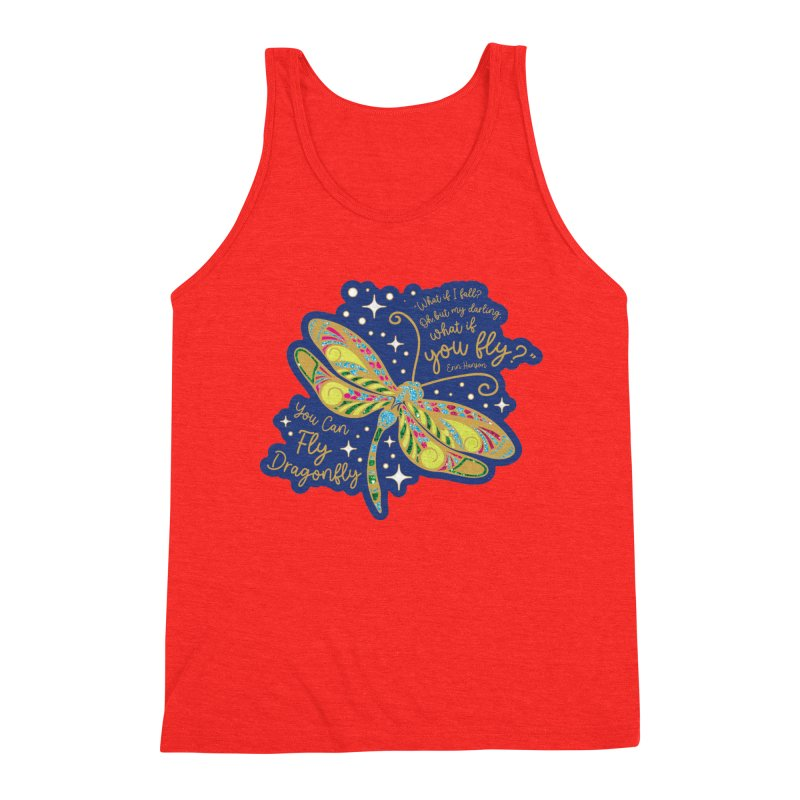 You Can Fly Dragonfly Men's Tank by Moon Joggers's Artist Shop