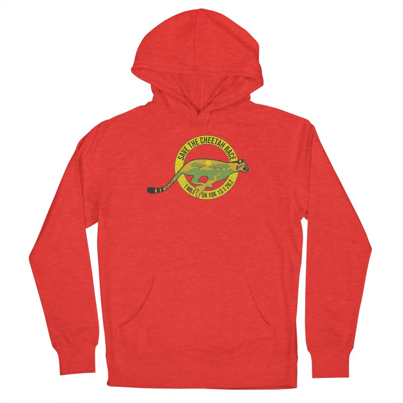 Save the Cheetah Men's Pullover Hoody by Moon Joggers's Artist Shop