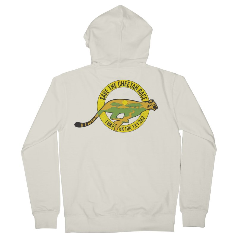 Save the Cheetah Men's Zip-Up Hoody by Moon Joggers's Artist Shop