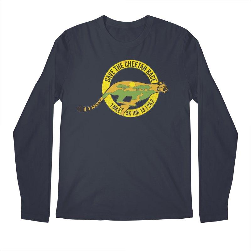 Save the Cheetah Men's Longsleeve T-Shirt by Moon Joggers's Artist Shop