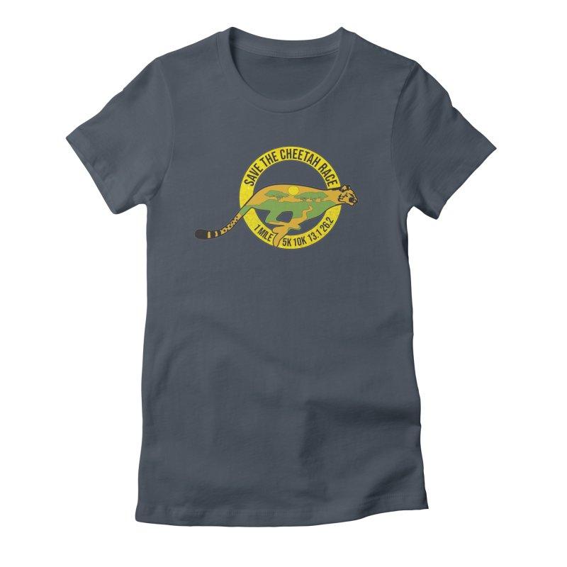 Save the Cheetah Women's T-Shirt by Moon Joggers's Artist Shop