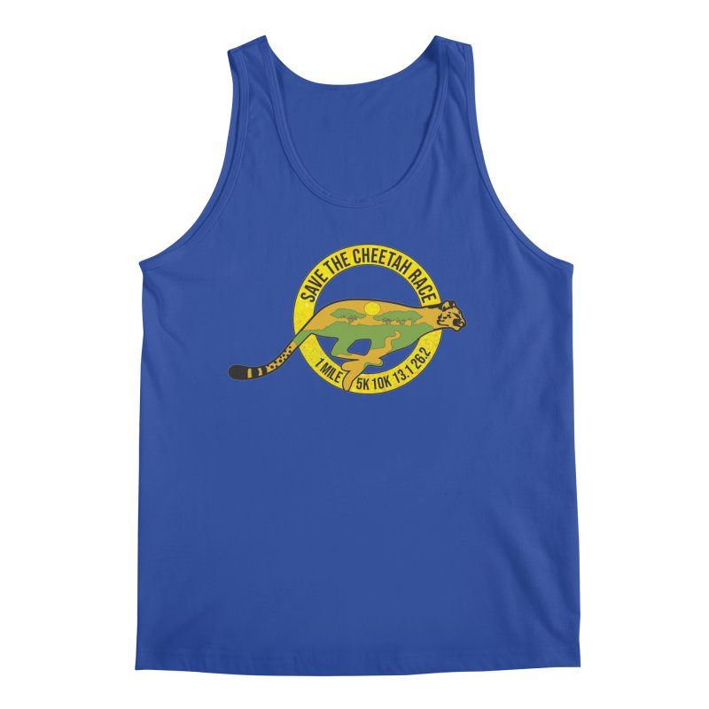 Save the Cheetah Men's Tank by Moon Joggers's Artist Shop