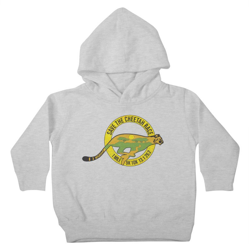 Save the Cheetah Kids Toddler Pullover Hoody by Moon Joggers's Artist Shop