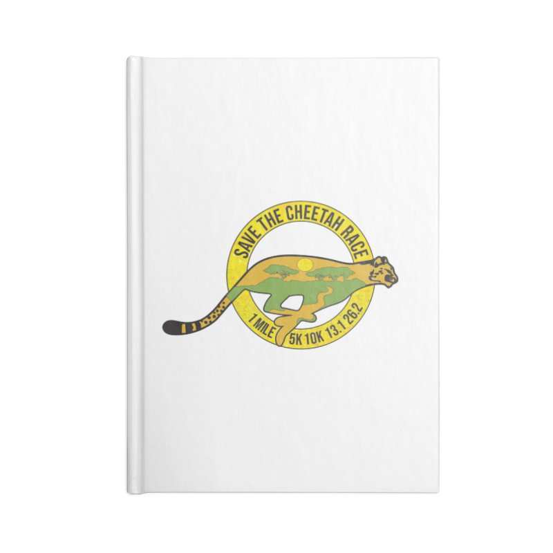 Save the Cheetah Accessories Notebook by Moon Joggers's Artist Shop