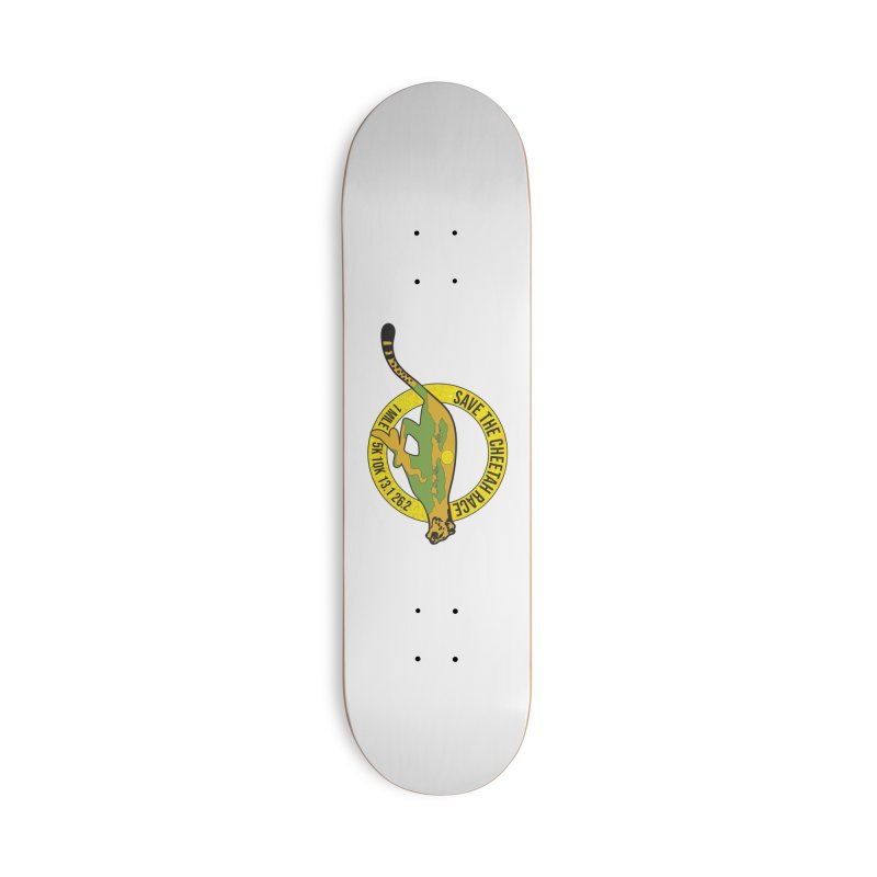 Save the Cheetah Accessories Skateboard by Moon Joggers's Artist Shop