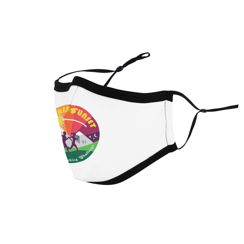 Sunrise to Sunset Accessories Face Mask by Moon Joggers's Artist Shop