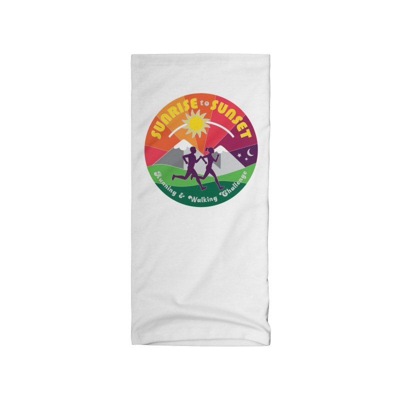 Sunrise to Sunset Accessories Neck Gaiter by Moon Joggers's Artist Shop