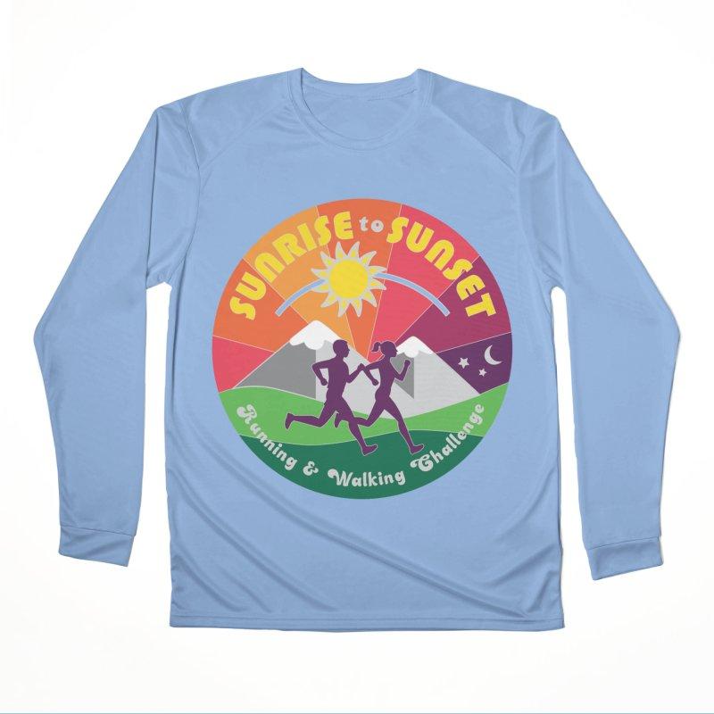 Sunrise to Sunset Men's Longsleeve T-Shirt by Moon Joggers's Artist Shop