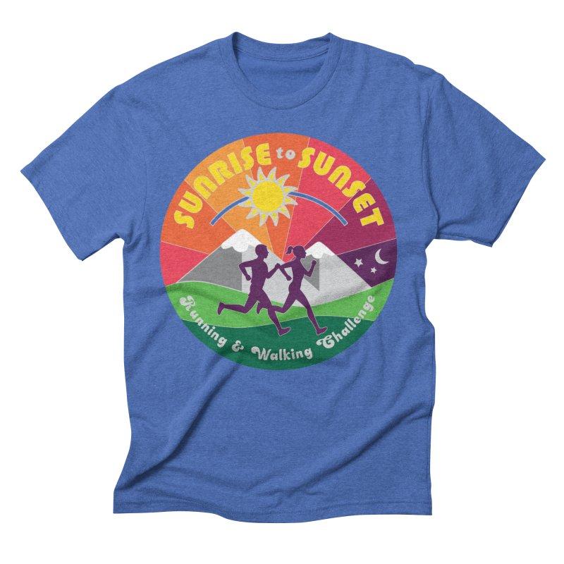 Sunrise to Sunset Men's T-Shirt by Moon Joggers's Artist Shop
