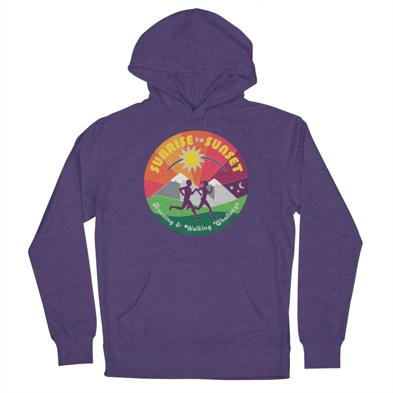 Sunrise to Sunset Women's Pullover Hoody by Moon Joggers's Artist Shop