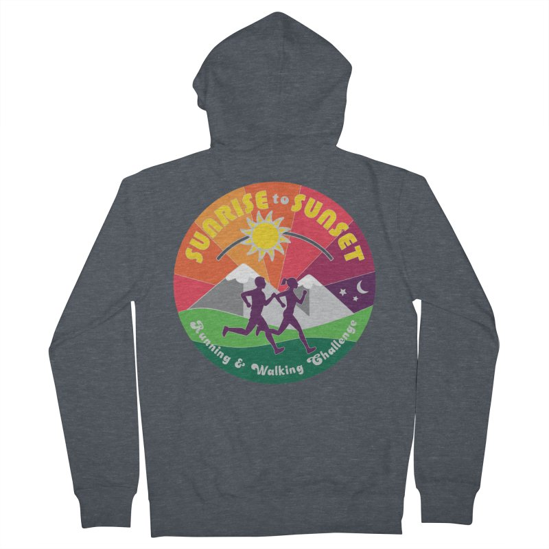 Sunrise to Sunset Women's Zip-Up Hoody by Moon Joggers's Artist Shop