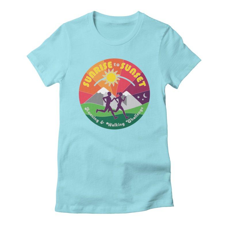 Sunrise to Sunset Women's T-Shirt by Moon Joggers's Artist Shop