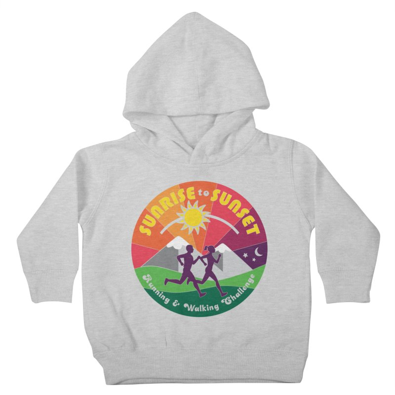 Sunrise to Sunset Kids Toddler Pullover Hoody by Moon Joggers's Artist Shop